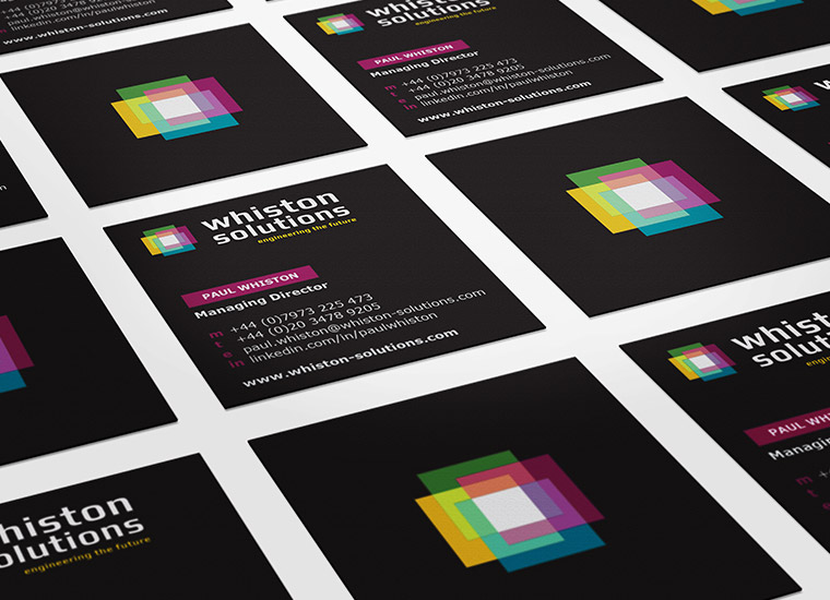 Whiston Solutions Business Cards
