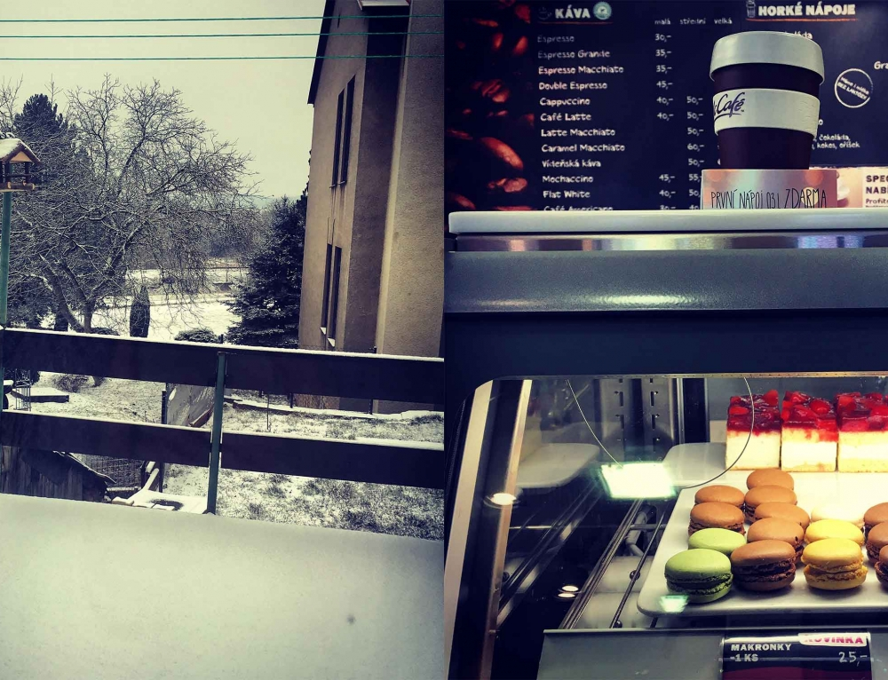 Snow, Macaroons and McDonald…