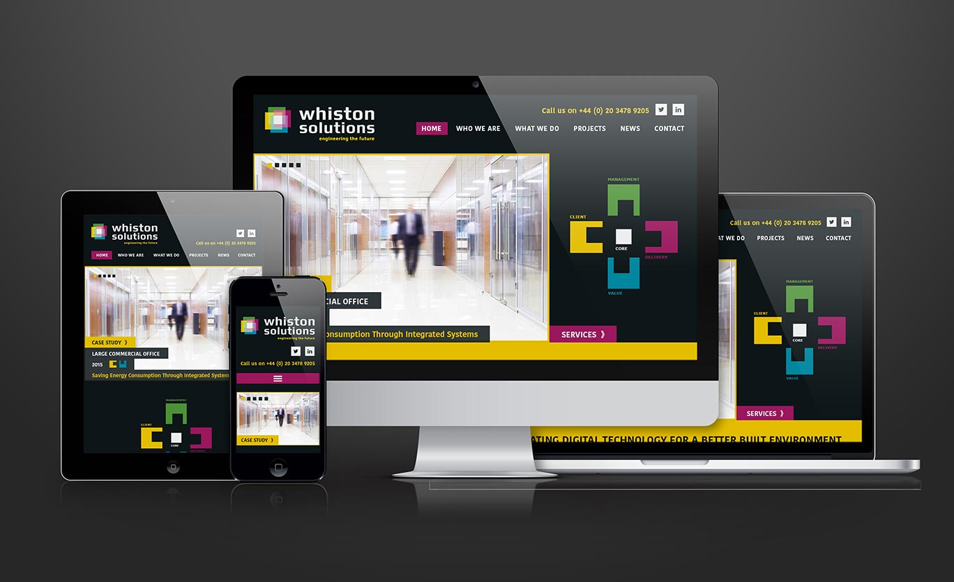 Whiston Solutions Website